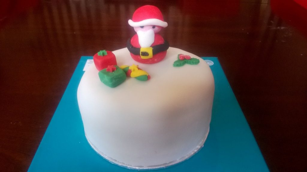 Christmas Cake Santa Claus Is Coming To Town Cakes By Debbie Walbrin