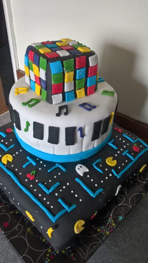 Wedding Cake 80s Theme Cakes By Debbie Walbrin
